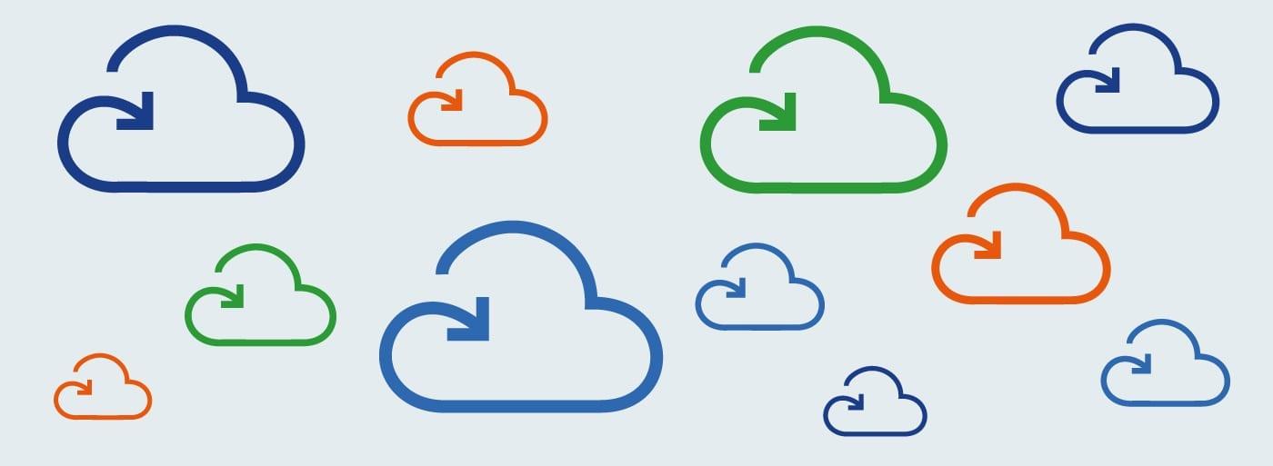 App-Logos Cloud-Konnektoren