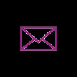 E-Mail-Symbol violett