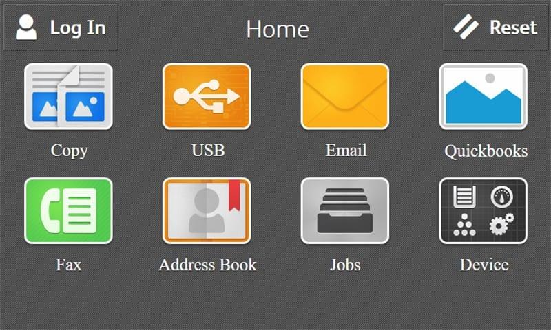 Screenshot Startseite Quickbooks
