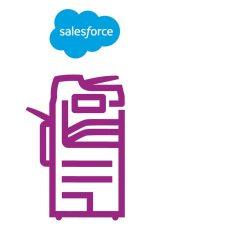 Altalink-Symbol violett Salesforce
